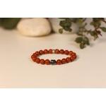 Bracelet Bouddha Jaspe Rouge 1