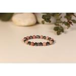 Bracelet Bouddha Rhodochrosite 1 Hématite 2