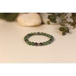 Bracelet Bouddha Aventurine Verte 3 Hématite 2