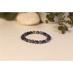 Bracelet Bouddha Sodalite 3 Hématite 1