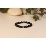 Bracelet Bouddha Obsidienne 2