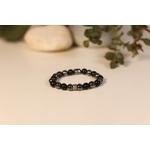 Bracelet Bouddha Obsidienne 1 Hématite 2