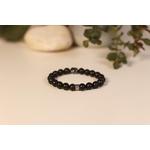 Bracelet Bouddha Pierre de lave 2