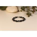 Bracelet Bouddha Pierre de lave 1 Hématite 1