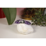 Bracelet Bouddha Améthyste Hématite Karmantra 3