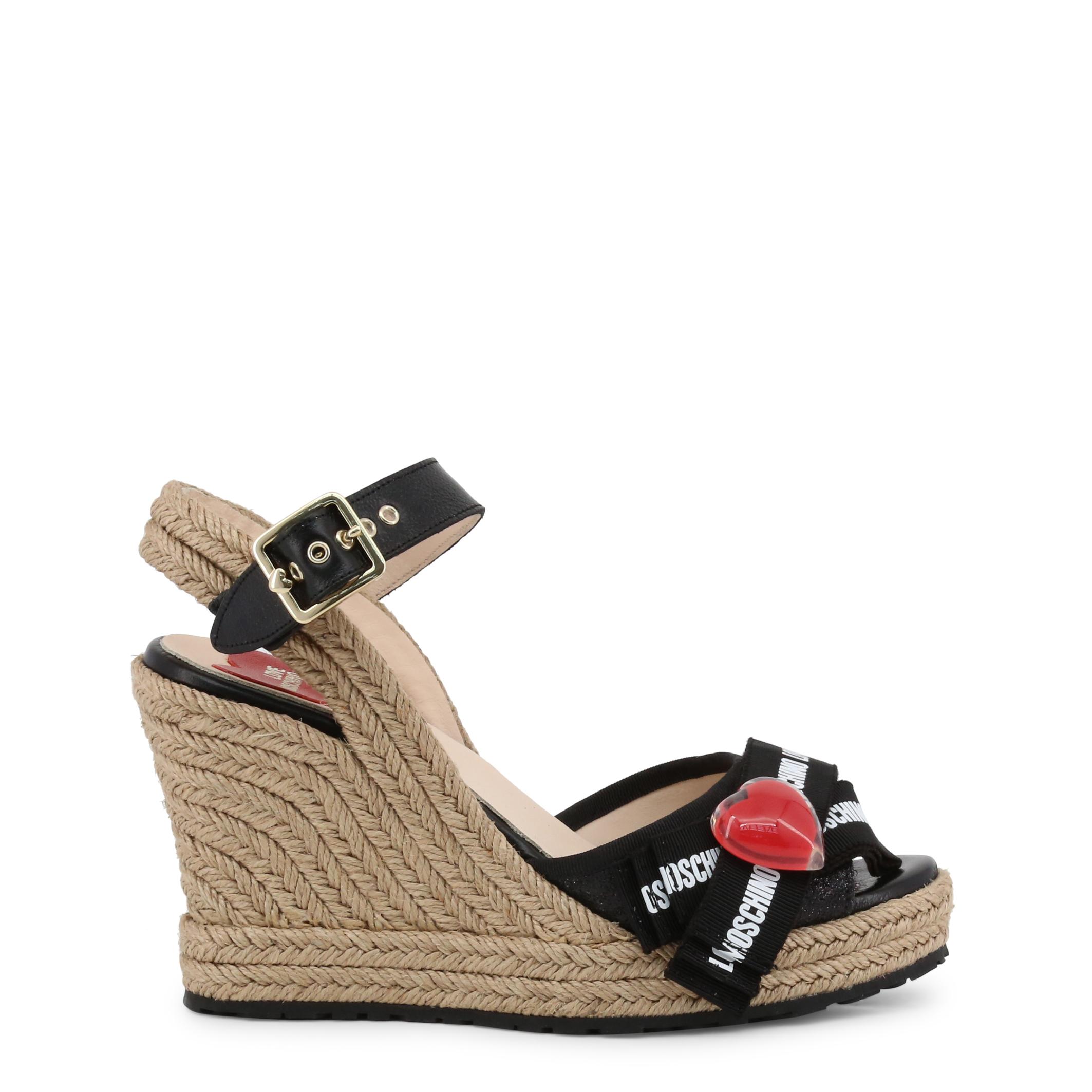 sandales à plateforme Love Moschino