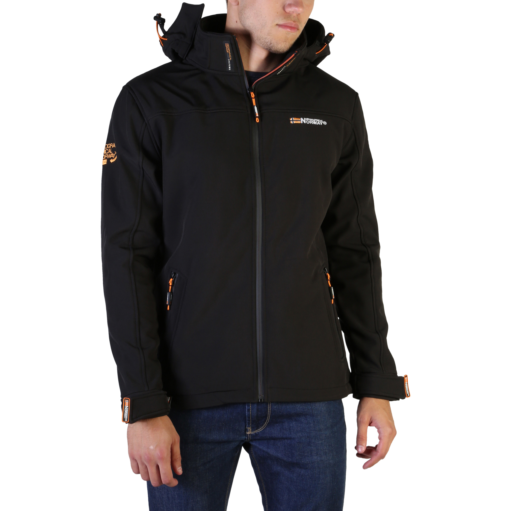 Geographical Norway Takeaway man