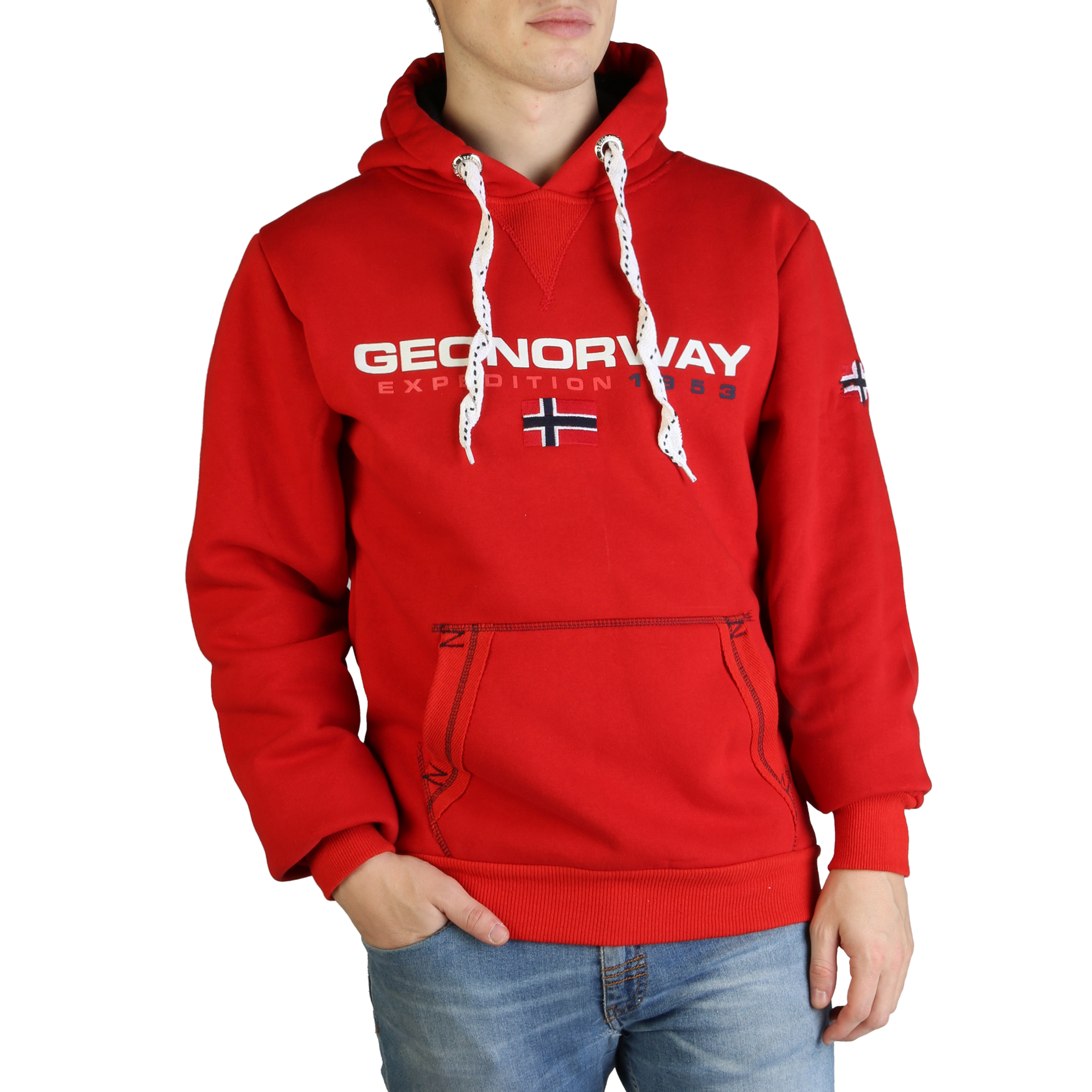 Geographical Norway Golivier man