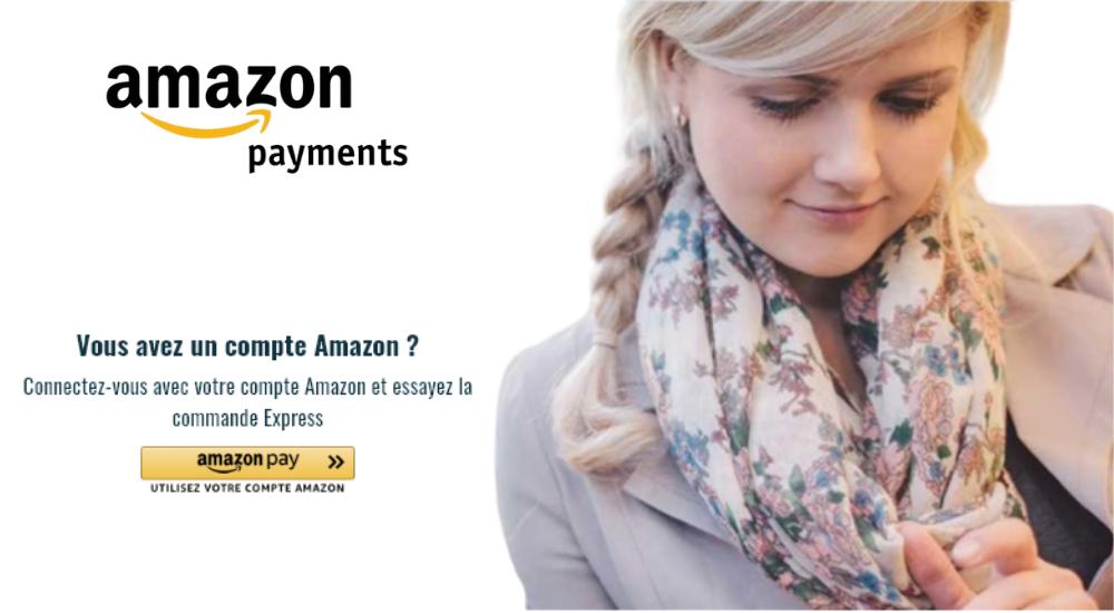 Amazon Payments est sur Brandibay. Avec Amazon Payments, payer en ligne n'a jamais été si facile. Découvrez tous nos moyens paiements 100 % sécurisé.