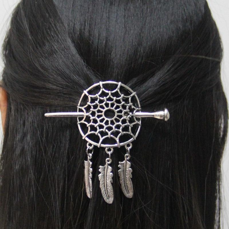 Pinces-cheveux-antiques-grand-attrape-r-ve-accessoires-coulissants