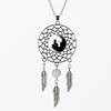 collier attrape reves yin yang cheval2