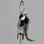 PORTE CLES YING YANG 4