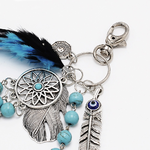 porte clés bleu 3
