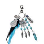 porte clés bleu 4