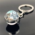 porte clés capteur de rêves loup 3
