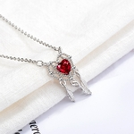 collier coeur rouges 10