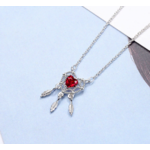 collier coeur rouge3