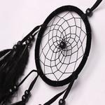 Carillons-vent-fait-la-main-indien-attrapeur-de-r-ves-Net-avec-plumes-55-cm-tenture