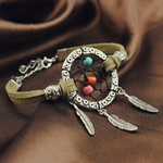 bracelet marron