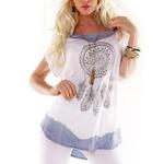 tee-shirt attrape-rêves en coton
