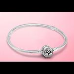 bracelet coeur symbole infiny