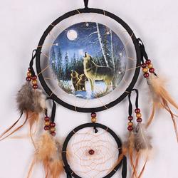 aigle-ours-loup-conception-la-main-attrapeur-de-r-ves-avec-plumes-motif-animal-voiture-tenture