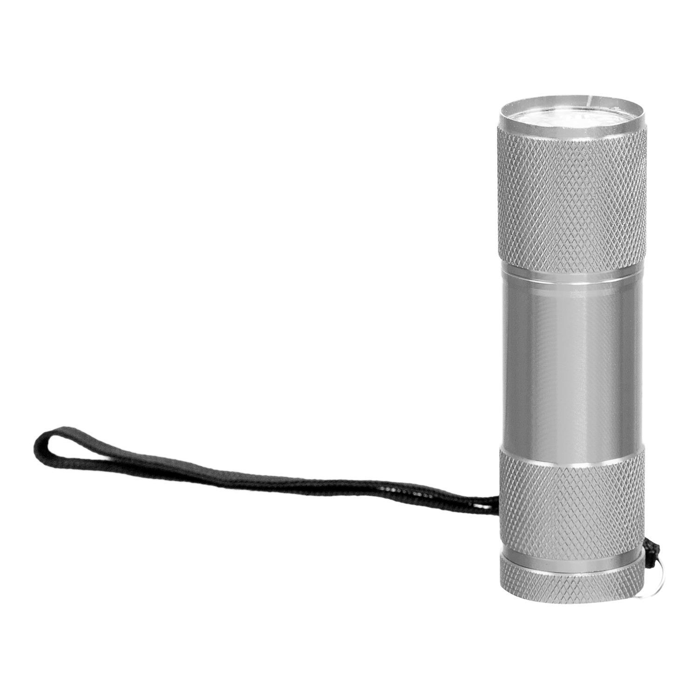 Mini Lampe Torche Aluminium 9 LED