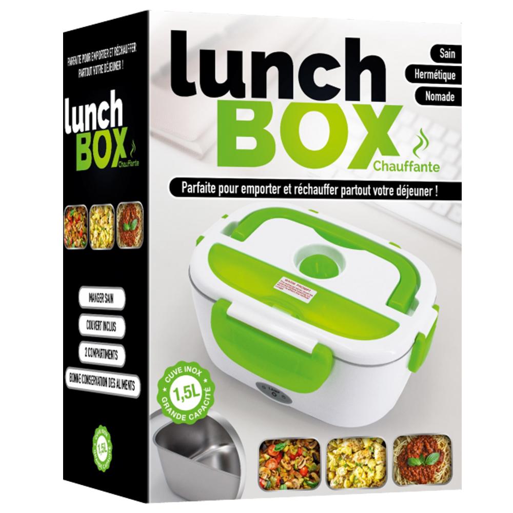 Lunch Box Chauffante avec Cuve Inox 1,5 L