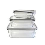 cook concept boites de conservation gigogne avec couvercle hermetique