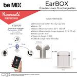 be mix earbox ecouteurs sans fil