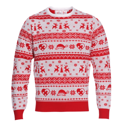 Pull de Noël Le Rouge et Blanc