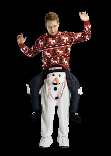 Costume de Noël Bonhomme de neige