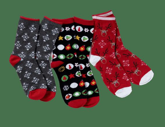 Chaussettes moches de Noël