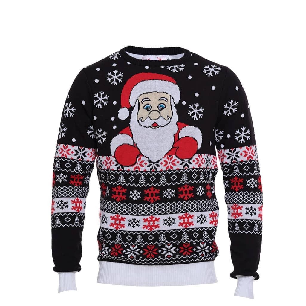 Pull de Noël Coucou Père Noël