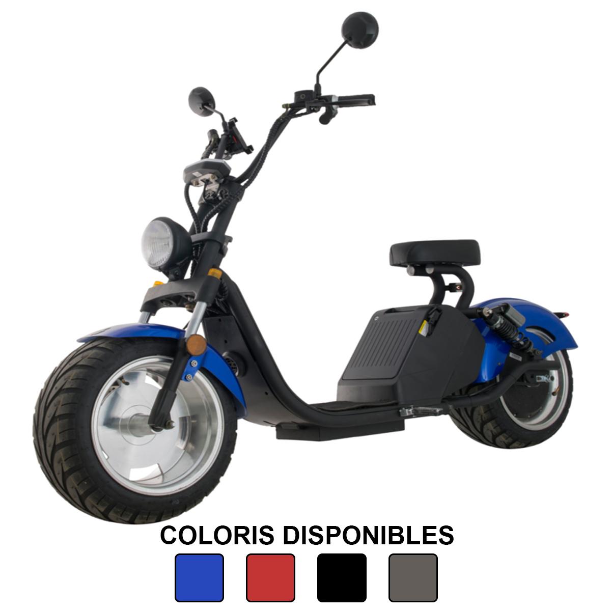Azur Scooter électrique Luqi HL3