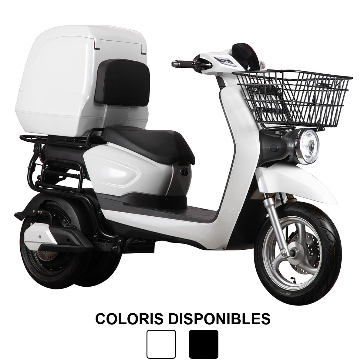 Scooter 3W PRO (3 roues), idéal pour les professionnels de la livraison