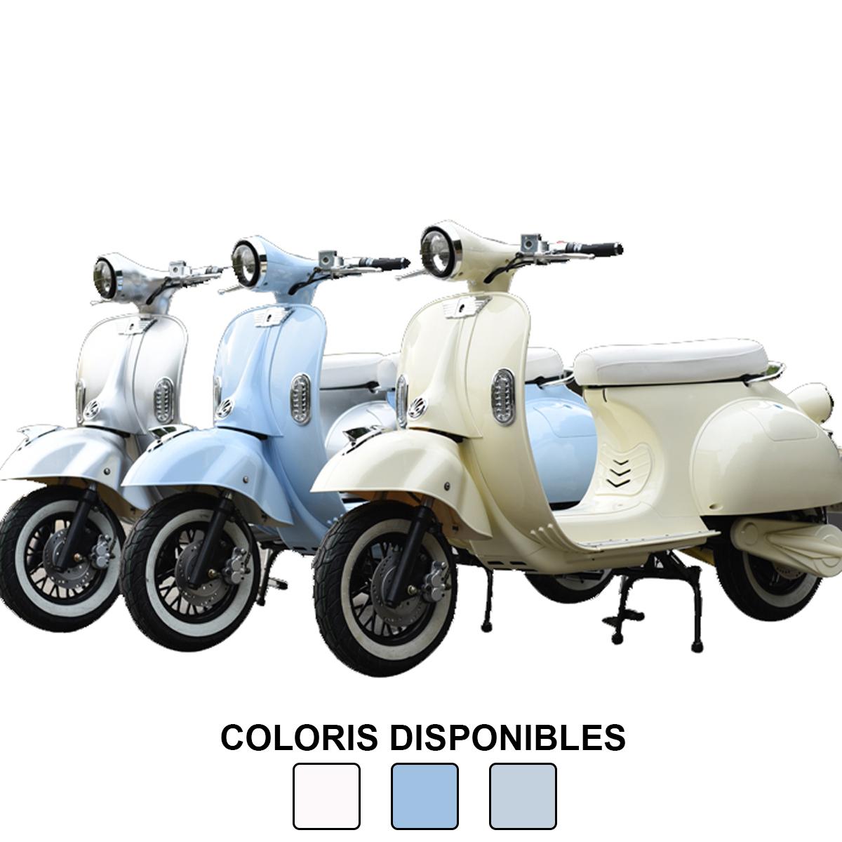 Scooter Lycke Retro80 - 125cc, vitesse 85km/h