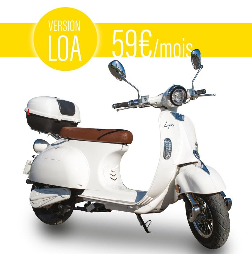 Apport de 300€ + 99€ frais de port pour LOA Lycke Retro50 Rouge