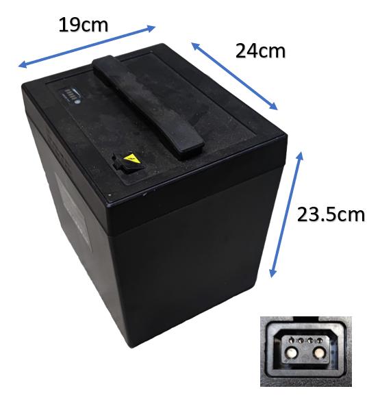 Batterie amovible 60V20Ah pour Scooter électrique Lycke Classic50