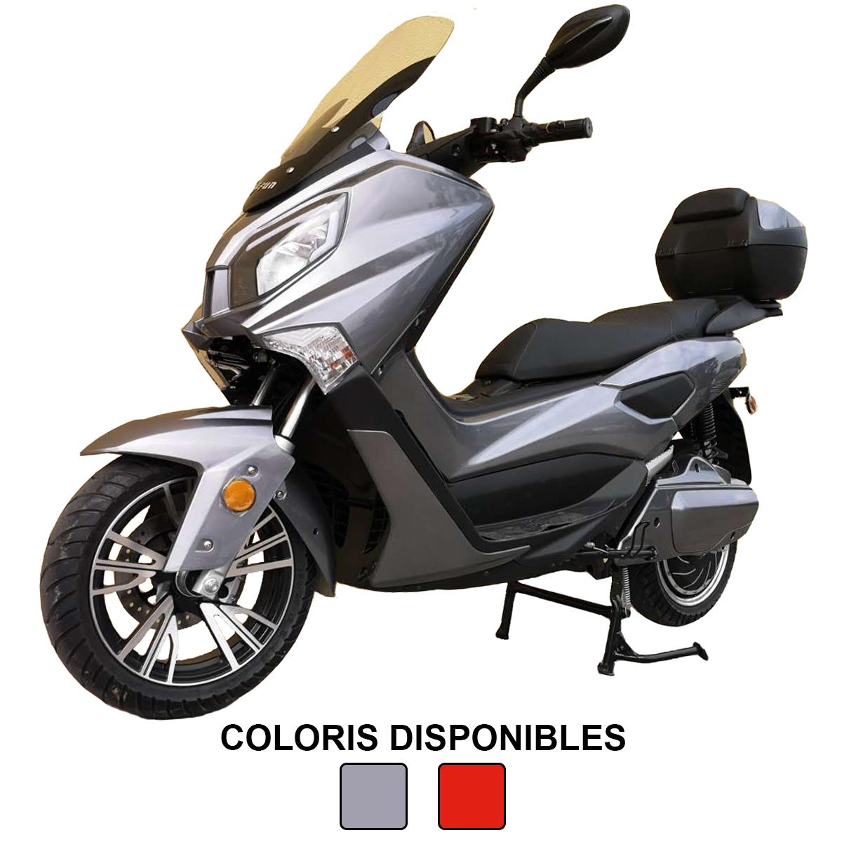 Scooter Lycke Tiger X - vitesse 115km/h et 150 KM d\'autonomie