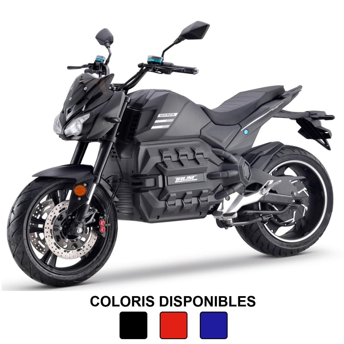 Moto électrique 125cc : Maccha Odin