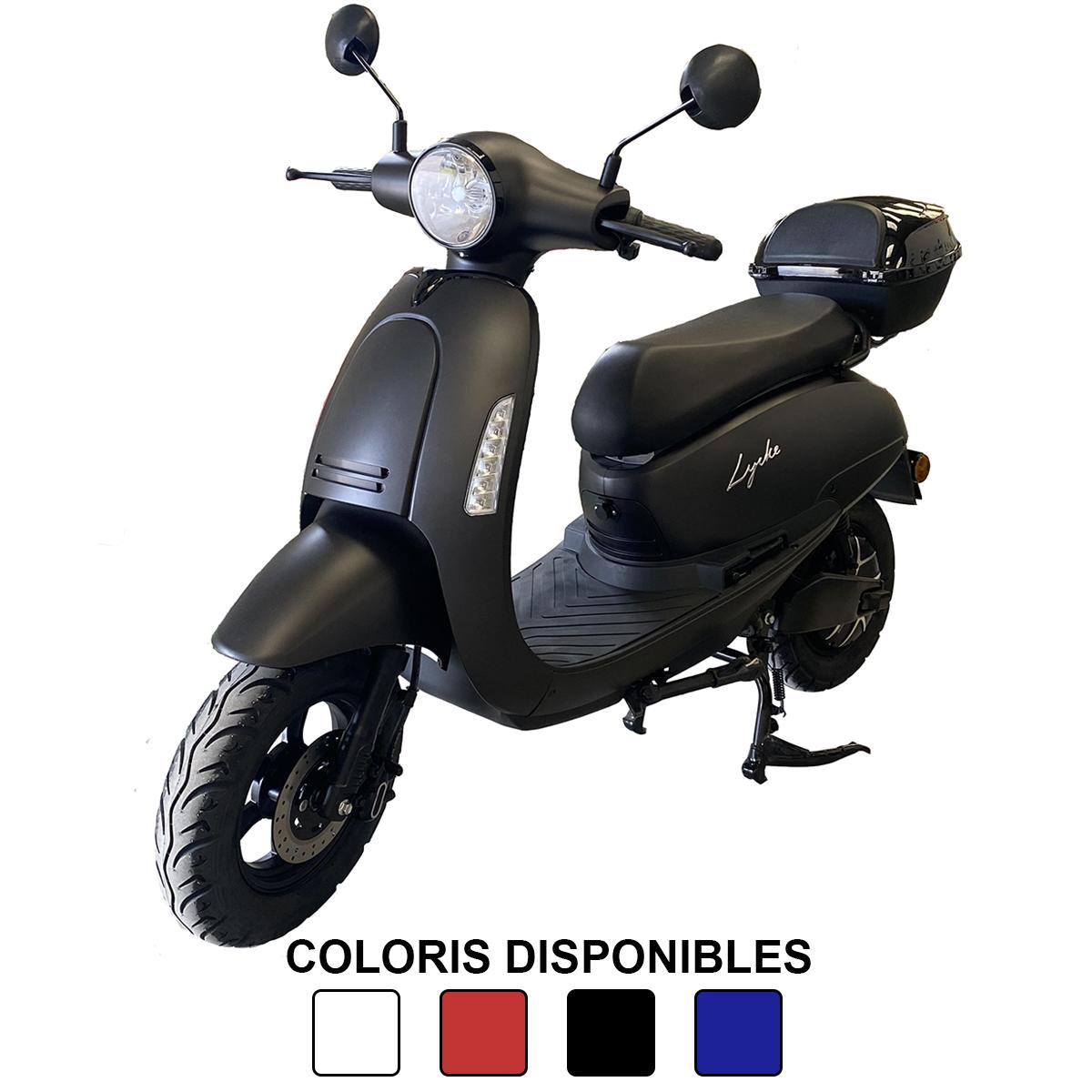 Scooter électrique Lycke Simply avec autonomie de 110 à 150km