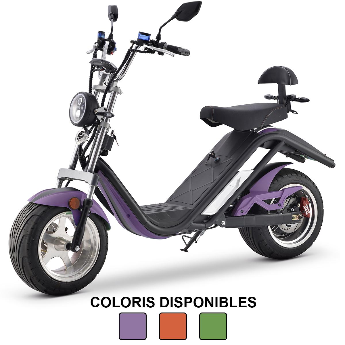 Azur Scooter électrique Ride50