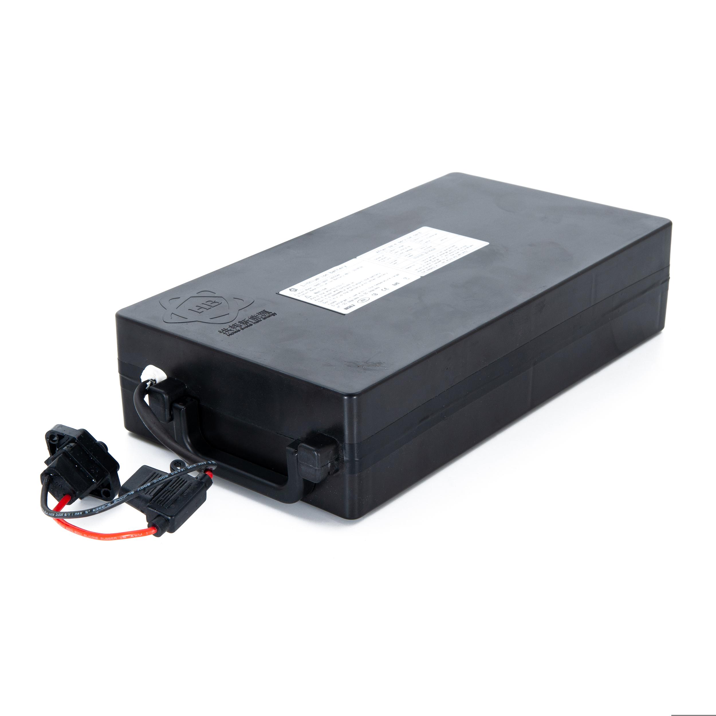 Batterie 60V20Ah pour Azur Scooter X10 sous le plancher et scooter HR8