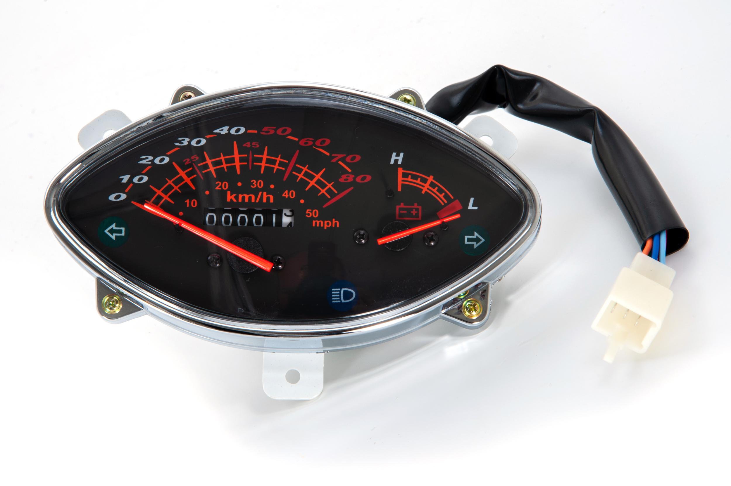 Compteur, écran analogique pour E-Azur Retro 50