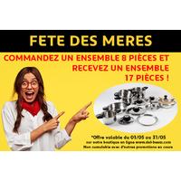 Ensemble 8 Pièces D.E.L FRANCE
