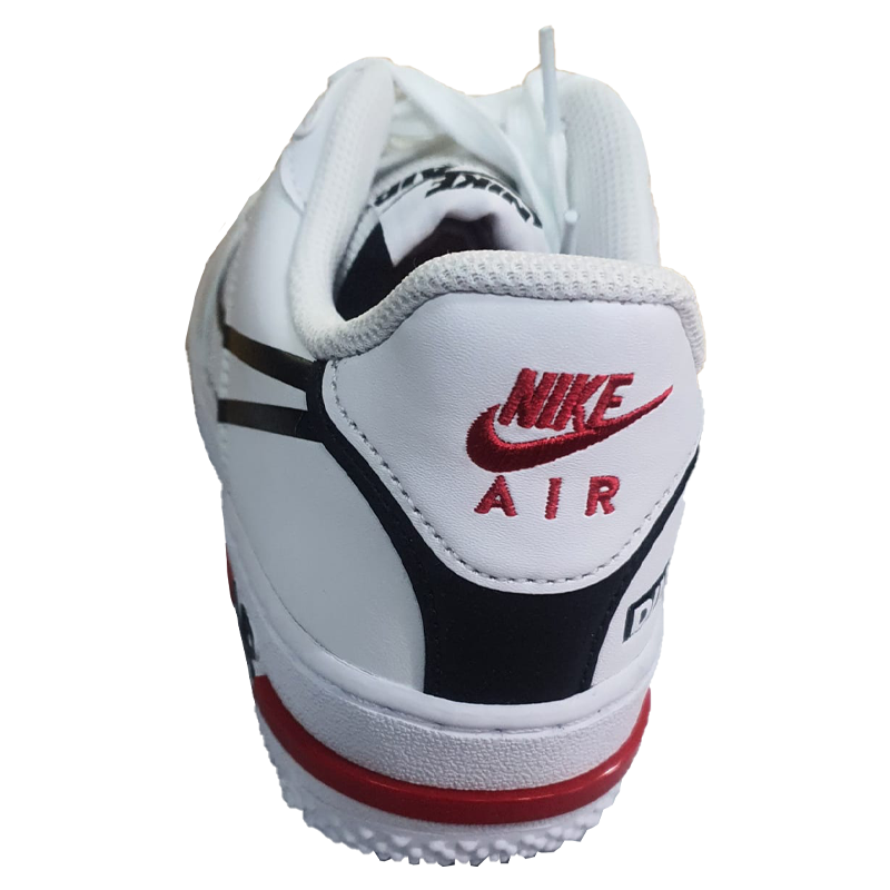 Basket femme, Nike Air Force 1 React D/MS/X white
