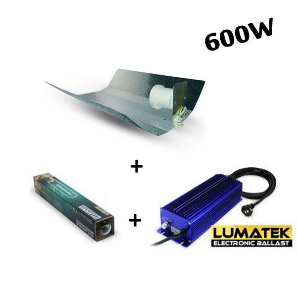 kit 600w hps grolux lumatek. Black Bedroom Furniture Sets. Home Design Ideas