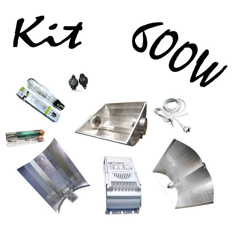 kit hps 600w horticole kit lampe 600w hps mh. Black Bedroom Furniture Sets. Home Design Ideas