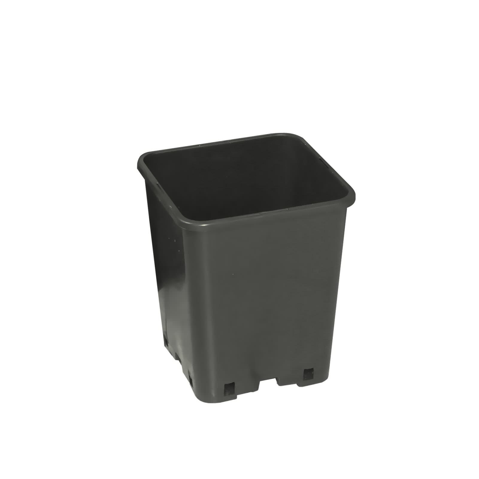 Pot De Rempotage : pot carr 6 0l pro pot plastique growshop terre hydro ~ Premium-room.com Idées de Décoration